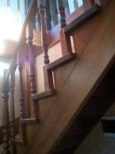 Лестница из дерева в Нижнем Новгороде